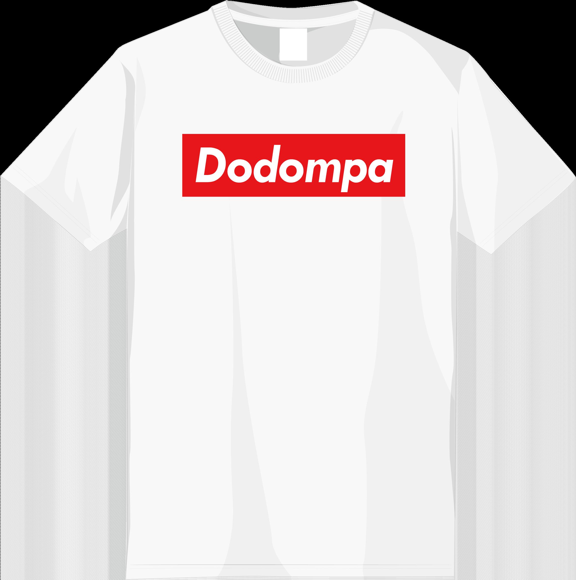 dodompa_front-tshirt_white